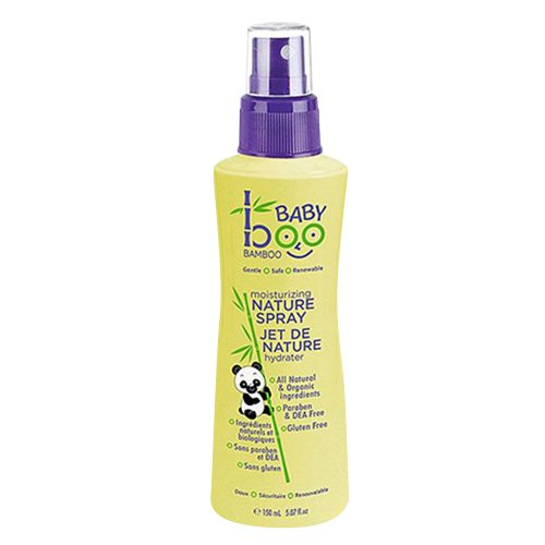 Boo Bamboo Nature Baby Spray, Moisturizing, 5.07 Fluid Ounce