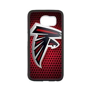 Atlanta Falcons Team Logo funda Samsung Galaxy S6 Cubierta blanca del teléfono celular de la cubierta del caso funda EBDOBCKCO14432