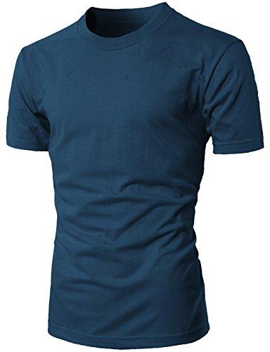 H2H Casual Crew neck T Shirts Various