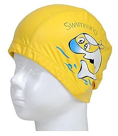 AK.SSI Cuffie antirumore Impermeabili Cuffie per Il Nuoto del Delfino con Cappuccio in PU 1 pz
