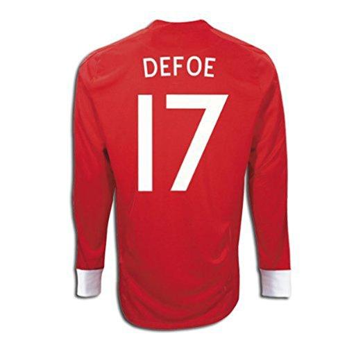 ボトル目指す経歴Umbro DEFOE #17 England Away Jersey Long Sleeve/サッカーユニフォーム イギリス アウェイ用 長袖 背番号17 デフォー