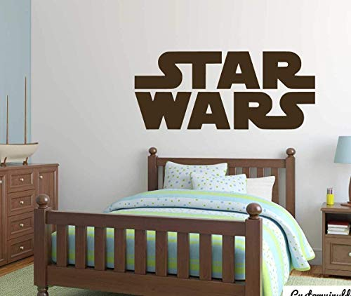 STAR WARS AT AT PERSONALISED WALL STICKER children/'s bedroom decal art 3 sizes