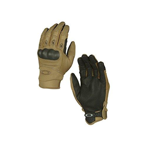 Oakley Mens Factory Pilot Glove, Coyote, - Oakley Pilots