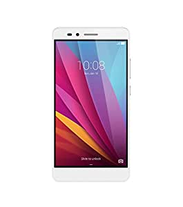 Honor 5X  unlocked smartphone, 16GB Daybreak Silver (US Warranty)