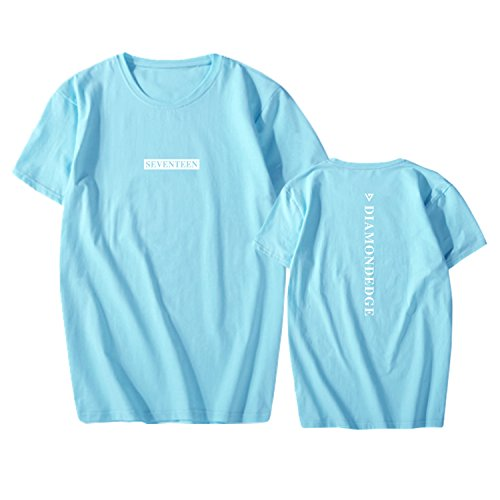SEVENTEEN World Tour DIAMOND EDGE T-shirt SUGA S.COUPS JUN Shirt Dk Blue Note