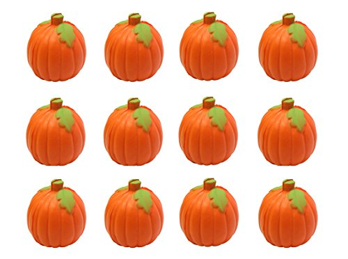 Curious Minds Busy Bags Bundle of 12 Pumpkin Party Favor Stress Balls, Pack of 12, Bulk Small Novelty Toy Prize Assortment for Birthday Halloween Party Gifts
