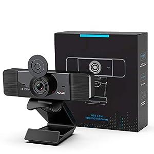 Flashandfocus.com 41uTv%2BWEJaL._SS300_ Computer Camera with Microphone, 1080P Webcam for Desktop Computer, Plug&Play Web Camera with Privacy Cover & Auto Focus…