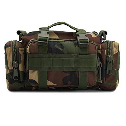 Fishing Bag Camouflage Lure Bag Fishing Tackle Bag Backpack Shoulder Pack Bag Camouflage by Purpume