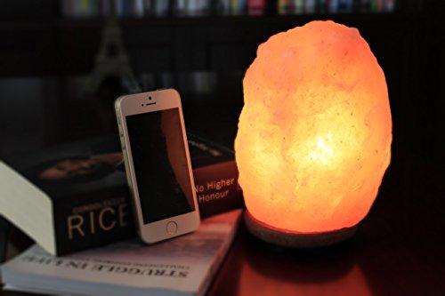Wbm himalayan glow 1001 hand carved natural salt lamp with for Wbm 7 tall himalayan natural crystal salt lamp