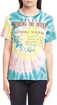 Camiseta Tie Dye: Breaking The Internet, Colcci Fun, Meninas