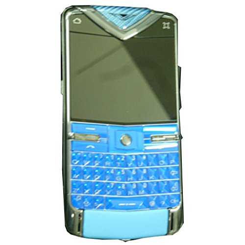 Vertu Constellation Quest RM-582V 8GB QWERTY Keypad (Limited Edition #24/77, Collectors Item) Factory Unlocked 3G Mobile Phone - Blue