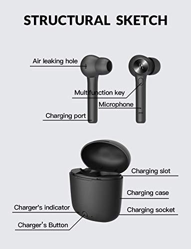 Bluetooth 50 Wireless Earbuds Bluedio HiHurricane TWS Wireless Earbud Headphones inEar Earphones