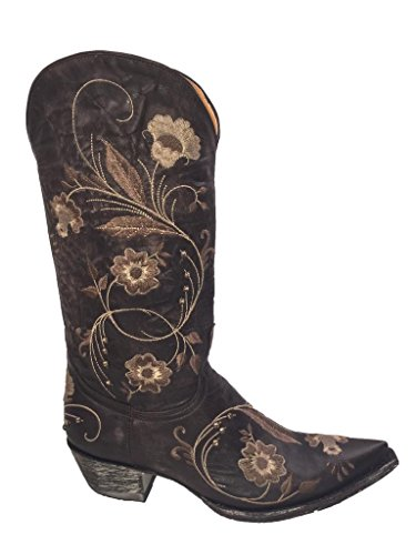 leather 3 Julie Gringo Old L956 Womens Cowboyboot Chocolate gB7qSqAn