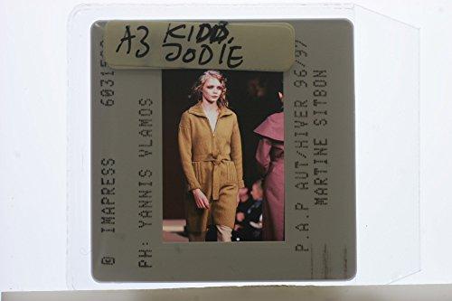 Slides photo of Jodie Kidd . - Kidd Photo