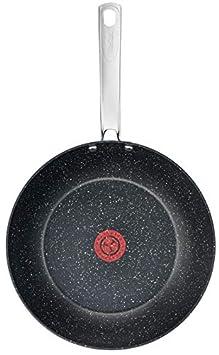 Tefal C6450442 Titanium Excel Frying Pan 24 cm Black Stone Effect
