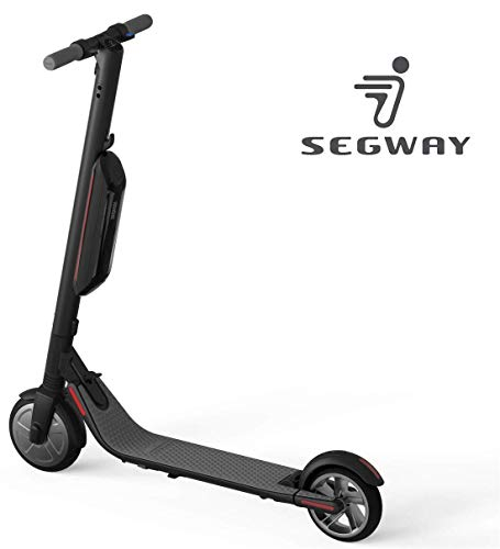 - Segway Ninebot ES4 Folding Electric Kick Scooter with Second Battery, Dark Grey
