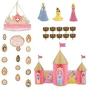 Disney Princess 15 Tlg Party Deko Set Kindergeburtstag