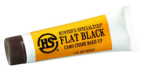 Hunters Specialties Crème Tube Makeup (Flat Black -