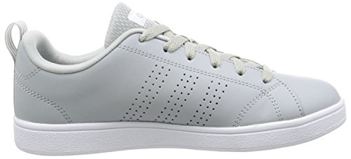 adidas Vs Advantage Clean, Zapatillas para Mujer, Core Black/Core Black/Light Orchid Gris (Clonix/msilve/ftwwht)