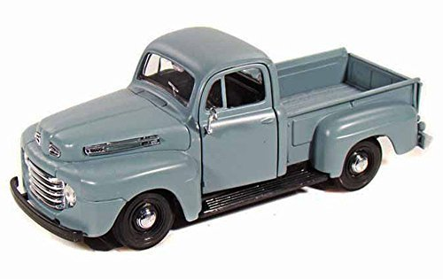 Maisto 1948 Ford F-1 Pickup Truck, Blue 31935-1/25 Scale Diecast Model Toy Car (Color May Vary) ()
