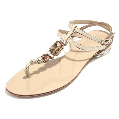 Pelle 89363 Ciabatta Donna amp;g Scarpa Iguana Stampa Dolce D Infradito amp; Flip Gabbana Nudo x1qYEwECT