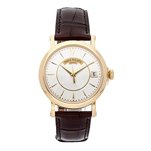 Patek Philippe Calatrava Mechanical (Automatic) Silver Dial Mens Watch 5153J-001 (Certified - Philippe Watch Calatrava Patek Mechanical