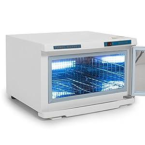Bellavie 16L 2 in 1 UV Light Hot Facial Spa Towel Sterilizer Salon Cabinet Warmer Heater