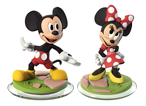 Disney Infinity 3.0 - Mickey Mouse & Minnie Mouse (2-Pack) Loose (Toy) by Disney Infinity