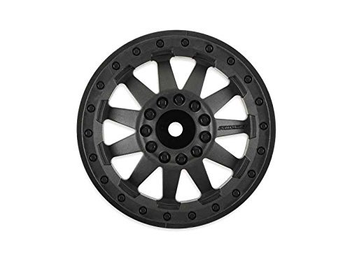 (PROLINE 274203 F-11 3.8 (Traxxas Style Bead) Black 1/2 Offset 17mm Wheels)