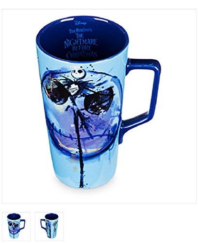 (DISNEY - Blue in the face Jack Skellington Latte Mug holds 20)