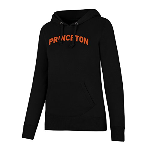 NCAA Princeton Tigers Women's Ots Fleece Hoodie, Large, Jet - Ncaa Womens Hoody
