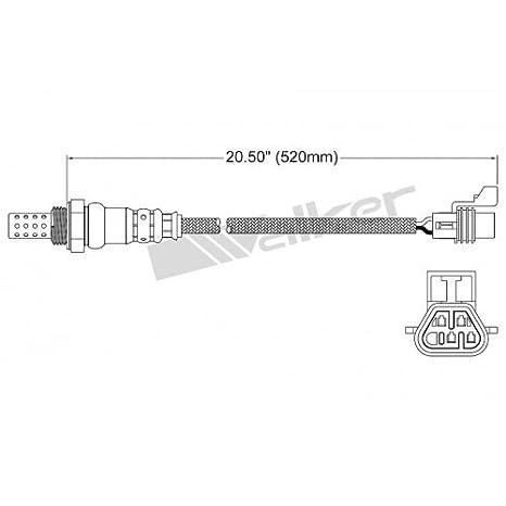 Amazon.com: Walker Exhaust 25024649 4 WIRE O2 SENSOR: Automotive on