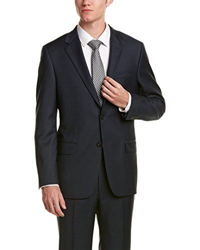 Hickey Freeman Mens 2Pc Milburn II Wool Suit, 42R, - Mens Freeman Suits Hickey