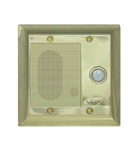Intercom Door Unit - Legrand - On-Q F7596SB Intercom Door Unit, Weather Resistant, Shiny Brass