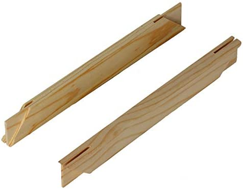 Epic Art Group Solid Wood Stretcher Bars for Canvas Art or Needlepoint Set of 2 30