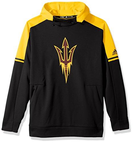 adidas NCAA Arizona State Sun Devils Adult Men NCAA Sideline Player Hood, Large, Black