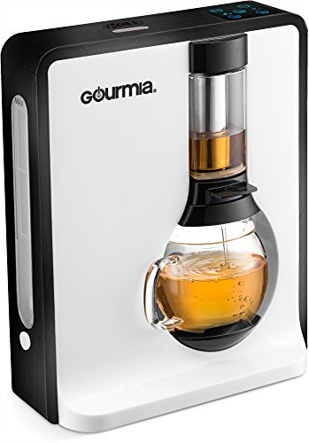 - Gourmia GTC8000 Electric Square Tea Maker Loose Leaf Tea Infuser & Brewer With iTEA BOIL TO BREW TECHNOLOGY Includes 3 Brew Settings (Light, Medium & Strong) Great For White, Green, Oolong & Black Tea