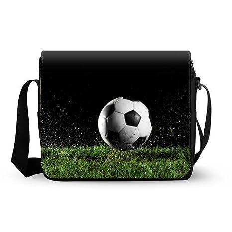 Moda Cute Cool de balón de fútbol Art tela de Oxford bolso ...