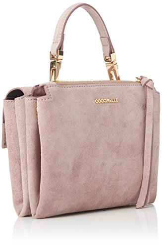 Coccinelle Arlettis Suede crossbody small pink