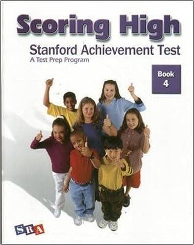 Scoring High: Stanford Achievement Test, Book 4 (2004-11-05)