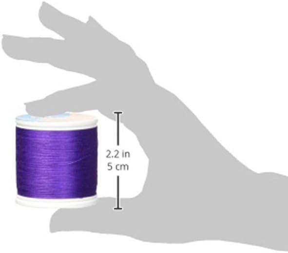YLI 22902-015 2-Ply Soft 60wt Touch Cotton Thread Navy Blue 250 yd