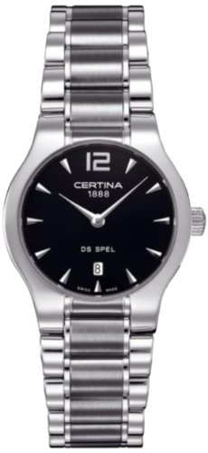 Certina C012.209.11.057.00 - Women's Watch, Stainless Steel, SIlver Tone