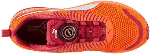 Puma Unisex-erwachsene Speed 300 S Disco Laufschuhe Orange (fluo Peach / Rose Red / White)