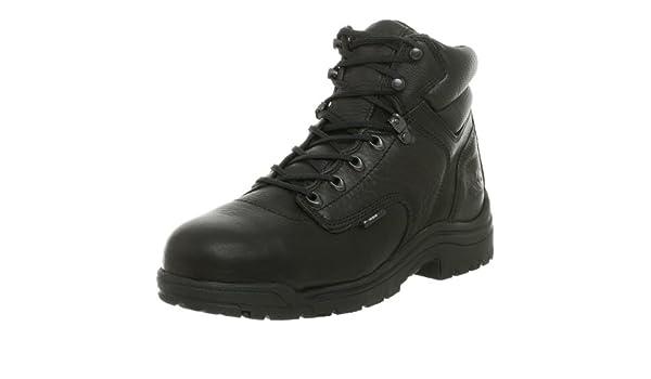 Bota de seguridad con punta de seguridad 26064 Titan 6 para hombre, Negro, 7.5 W: Amazon.es: Zapatos y complementos