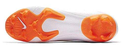 Nike Uomo total 107 PRO da Scarpe Bianco White VI Calcio Chrome AG O Superfly Mercurial rY786ra