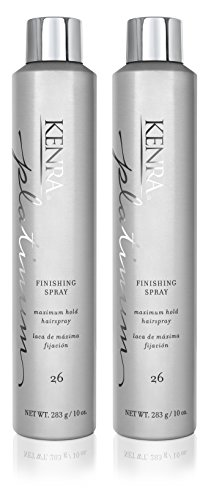 Kenra Platinum Finishing Spray 26, 55 VOC, 10-Ounce 2-Pack