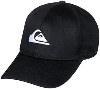 Quiksilver Decades Gorra de béisbol, Negro, Talla única para ...