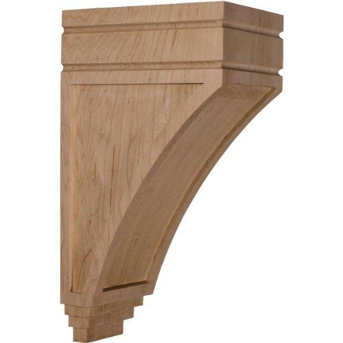 Ekena Millwork CORW05X07X14SJCH 5-Inch W x 7 3/4-Inch D x 14-Inch H Large San Juan Wood Corbel, Cherry