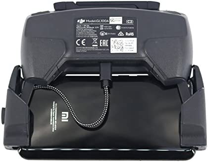 PENIVO Nylon USB Data Câble,Drone Câble de transmission de données vidéo Android micro-USB Type-C Cable pour DJI Mavic Pro / Spark télécommande lignes de données pour iOS / Android cellulaire et tablettes
