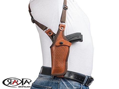 - Vertical Shoulder Leather Holster for 1911 3